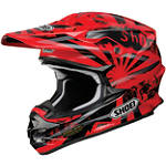 Shoei VFX-W Helmet - Dissent - SHOEI-PROTECTION Dirt Bike neck-braces-and-support