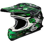 Shoei VFX-W Helmet - Grant - Shoei Dirt Bike Helmets and Accessories