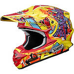Shoei VFX-W Helmet - Barcia - SHOEI-PROTECTION Dirt Bike neck-braces-and-support