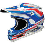Shoei VFX-W Helmet - Salute - Dirt Bike & Motocross Protection