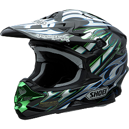 Shoei VFX-W Helmet - K-Dub 3 - 2013 Troy Lee Designs SE3 Helmet - Cyclops