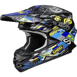 Shoei VFX-W Helmet - Krack - 2013 Troy Lee Designs SE3 Helmet - A Day In The Dirt