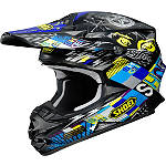 Shoei VFX-W Helmet - Krack - SHOEI-PROTECTION Dirt Bike neck-braces-and-support