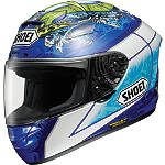 Shoei X-12 Helmet - Bautista - Shoei Motorcycle Helmets and Accessories