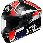 Shoei X-12 Helmet - Marquez - Shoei Motorcycle Helmets and Accessories