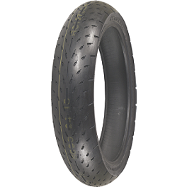 Shinko 003 Stealth Front Tire - 120/70ZR17 Ultra-Soft - Shinko 718 Rear Tire - MT90-16