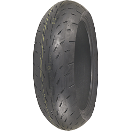 Shinko 003 Stealth Rear Tire - 190/50ZR17 Ultra-Soft - Shinko 005 Advance Front Tire - 130/70-18V