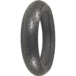 Shinko 003 Stealth Front Tire - 120/60ZR17 Ultra-Soft - Shinko 011 Verge Front Tire - 120/70ZR18