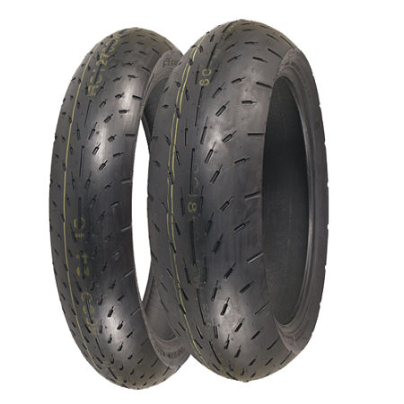 Shinko 003 Stealth Tire Combo - Main