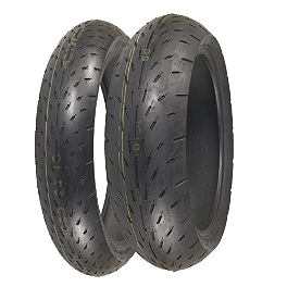 Shinko 003 Stealth Tire Combo - Shinko 010 Apex Tire Combo