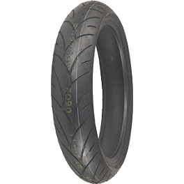 Shinko 005 Advance Front Tire - 120/60ZR17 - Shinko 009 Raven Rear Tire - 180/55ZR17