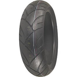 Shinko 005 Advance Rear Tire - 180/55ZR17 - Shinko 005 Advance Front Tire - 120/60ZR17