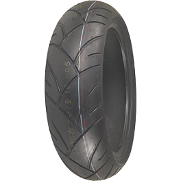 Shinko 005 Advance Rear Tire - 200/50ZR17 - Shinko 008 Race Front Tire - 120/70-17