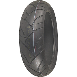 Shinko 005 Advance Rear Tire - 240/40-18V - Continental Race Attack Custom Radial Rear Tire - 240/40ZR18