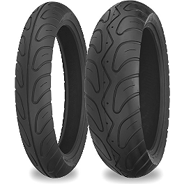 Shinko 006 Podium Tire Combo - Shinko 009 Raven Rear Tire - 170/60ZR17