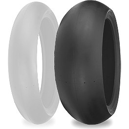 Shinko 008 Race Rear Tire - 180/55-17 - Shinko 003 Stealth Front Tire - 120/70ZR17 Ultra-Soft