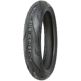 Shinko 010 Apex Front Tire - 120/60ZR17 - Shinko Hook-Up Drag Rear Tire - 200/50ZR17