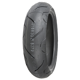 Shinko 010 Apex Rear Tire - 190/55ZR17 - Shinko SR740 Front Tire - 110/80-17