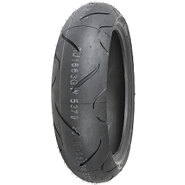 Shinko 010 Apex Rear Tire - 150/60ZR17 - Shinko 011 Verge Front Tire - 120/70ZR18
