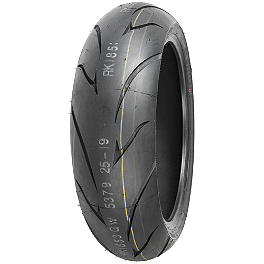 Shinko 011 Verge Rear Tire - 180/55ZR17 - Shinko 009 Raven Front Tire - 120/70ZR17
