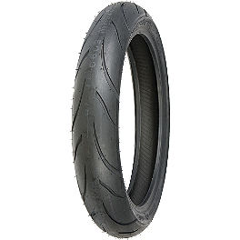 Shinko 011 Verge Front Tire - 120/70ZR18 - Shinko 010 Apex Rear Tire - 180/55ZR17