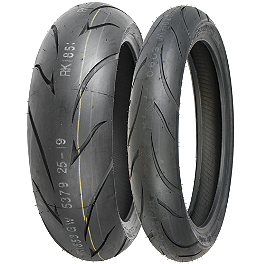 Shinko 011 Verge Tire Combo - Shinko 006 Podium Front Tire - 130/60ZR17