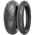 Shinko 011 Verge Tire Combo - Shinko Tires Motorcycle Tires