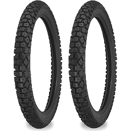Shinko Dual Sport 244 Tire Combo - Shinko Hook-Up Drag Rear Tire - 180/55ZR17