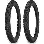 Shinko Dual Sport 244 Tire Combo - Motorcycle Tire and Wheels