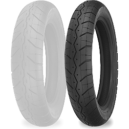 Shinko 230 Tour Master Front Tire - 110/90-18 - Shinko 250 Rear Tire - MT90-16 Whitewall