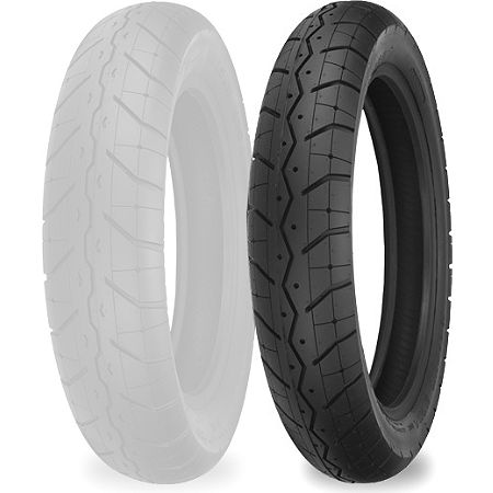 Shinko 230 Tour Master Front Tire - 110/90-19 - Main