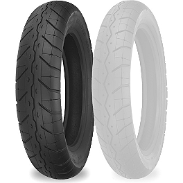Shinko 230 Tour Master Rear Tire - 180/70-15 - Shinko 777 Whitewall Tire Combo