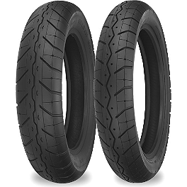 Shinko 230 Tour Master Tire Combo - Shinko 250 Whitewall Tire Combo
