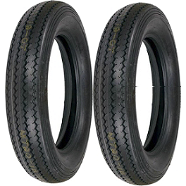 Shinko Classic 240 Tire Combo - Shinko Classic 240 Whitewall Tire Combo