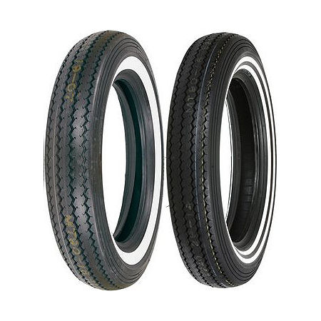 Shinko Classic 240 Whitewall Tire Combo - Main