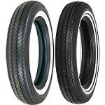 Shinko Classic 240 Whitewall Tire Combo -  Cruiser Tires