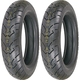 Shinko 250 Tire Combo - Dunlop Elite 3 Bias Touring Front Tire - Mm90-19