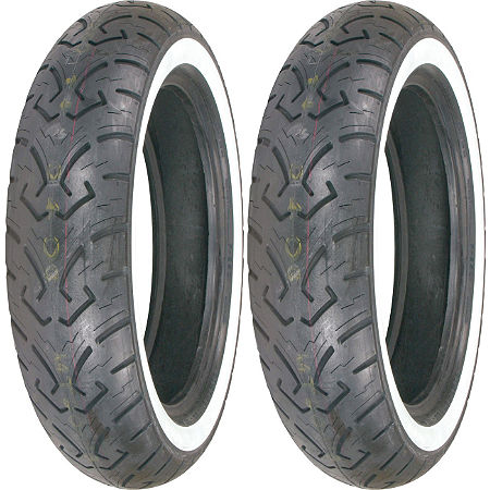 Shinko 250 Whitewall Tire Combo - Main