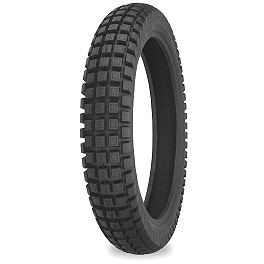 Shinko 255 Trail Pro Rear Tire - 110/90-18 - 2004 Kawasaki KLX400R Pirelli MT43 Pro Trial Rear Tire - 4.00-18