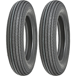 Shinko Super Classic 270 Tire Combo - Shinko 250 Rear Tire - MT90-16 Whitewall