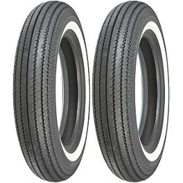 Shinko Super Classic 270 Whitewall Tire Combo - Shinko 230 Tour Master Rear Tire - 180/70-15