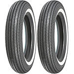 Shinko Super Classic 270 Whitewall Tire Combo -  Cruiser Tires