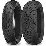 Shinko SR567 / SR568 Tire Combo -  Motorcycle Tires and Wheels