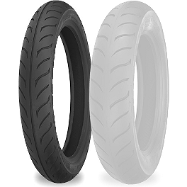 Shinko 611 Front Tire - MM90-19 - Shinko SR568 Rear Tire - 130/70-13