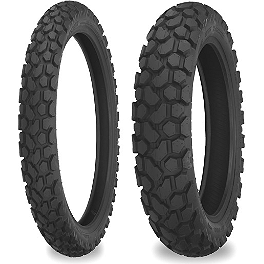 Shinko Dual Sport 700 Tire Combo - Shinko 003 Stealth Rear Tire - 200/50ZR17