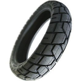 Shinko Dual Sport 705 Series Front/Rear Tire - 130/80-17TL - Shinko 008 Race Tire Combo