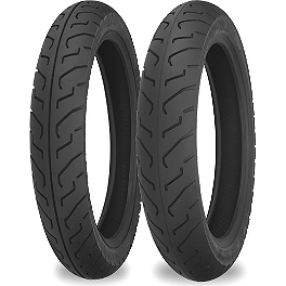 Shinko 712 Tire Combo - Shinko 003 Stealth Rear Tire - 200/50ZR17