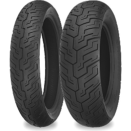 Shinko SR733 / SR734 Tire Combo - Shinko 230 Tour Master Front Tire - 120/90-18