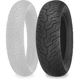 Shinko SR734 Rear Tire - 160/80-16 - Shinko 777 Whitewall Tire Combo