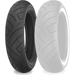 Shinko 777 Front Tire - 100/90-19 - Shinko Classic 240 Whitewall Tire Combo